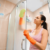 How to clean a shower door